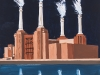 17) 'BPS TRIPTYCH: PAST; PRESENT; FUTURE' 2 (Battersea Power Station)